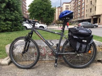 My awesome rental bike.