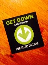 DownStreetArtSticker