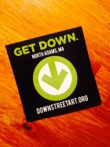 DownStreetArtSticker